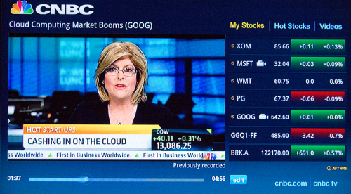CNBC Real-Time for Google TV | The Talking Geek