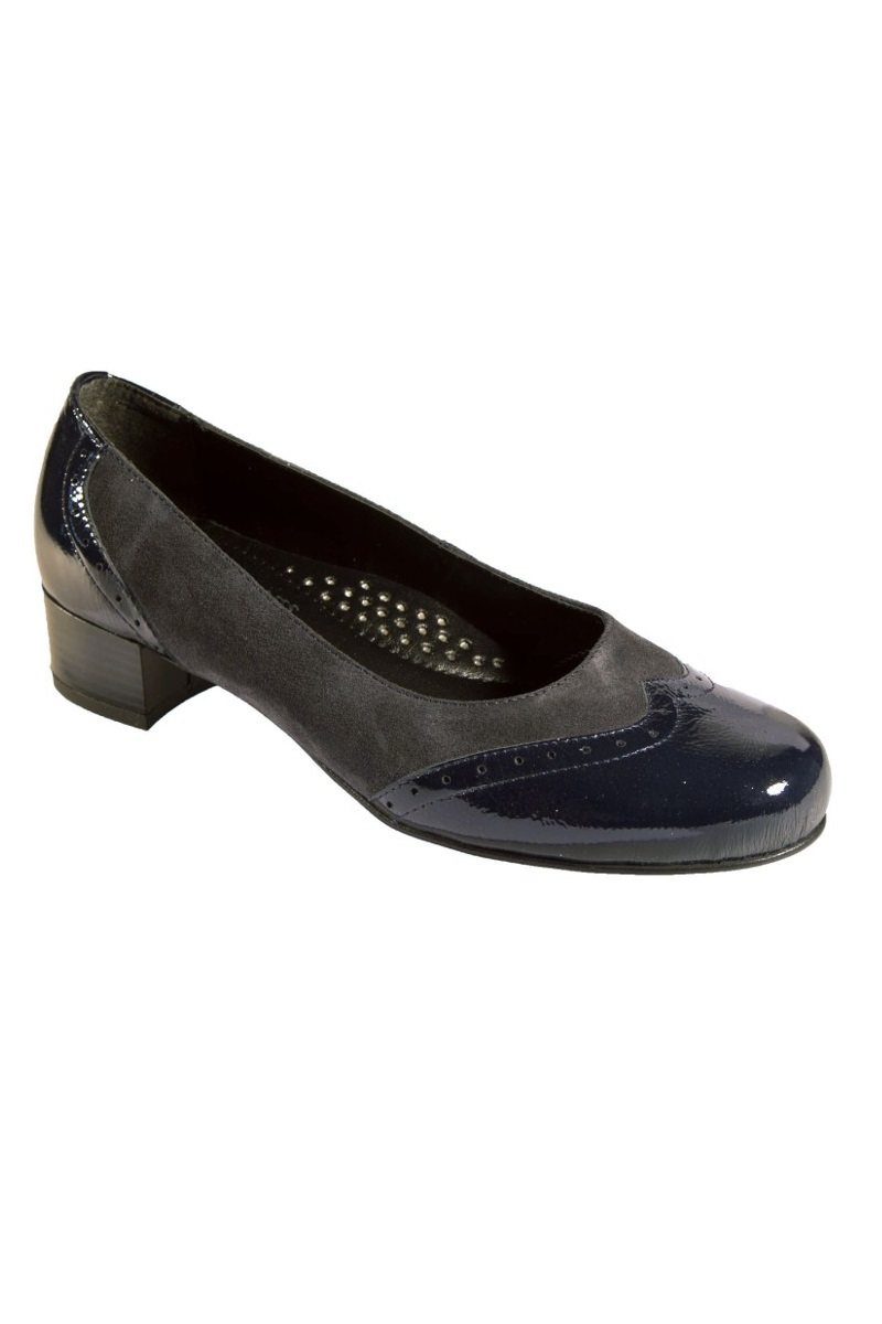 c1dc4fe0c11 Extra wide fit women s shoes DB Shoes 54032N 6E