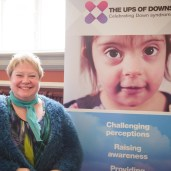 The show supports charities with stand space - like the brilliant The Ups of Downs