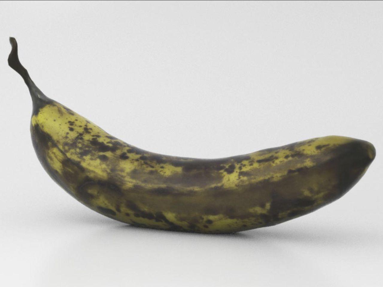 TALOS 3D Scan Store Food Banana Ripe Model