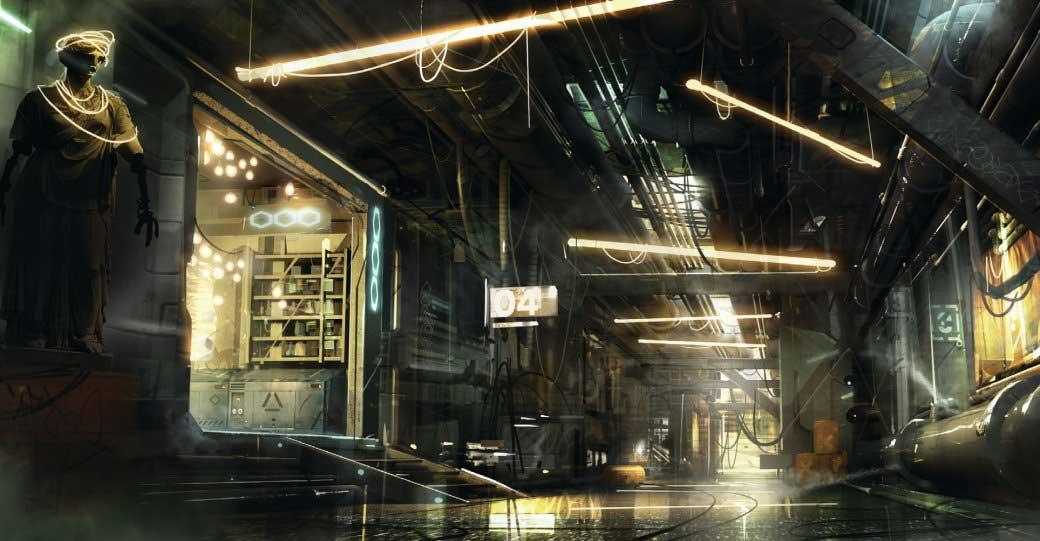 Deus Ex Mankind Divided 3 cyberpunk