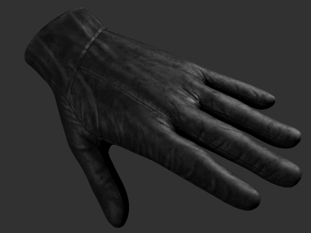 3D Clothing Glove Model