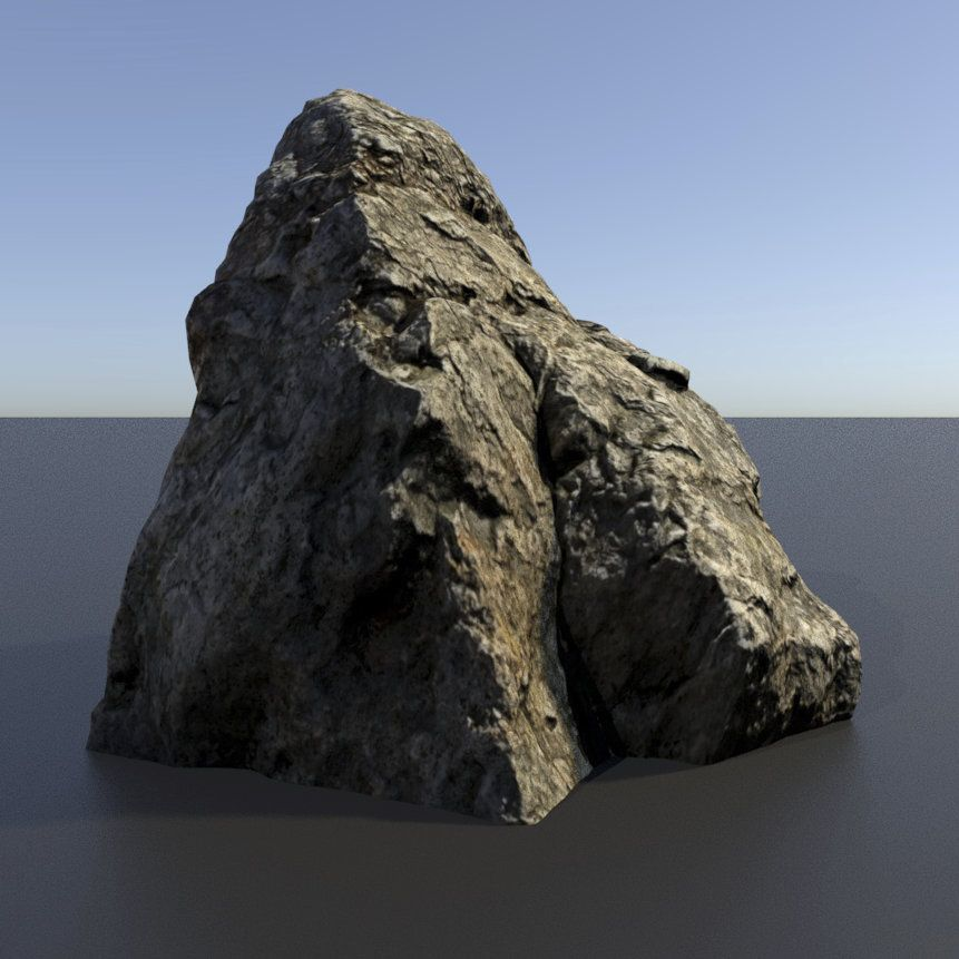 Talos Store: 3D scanned Rocks Assets - Rock 01