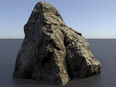 Talos Store: 3D scanned Rocks Assets - Rock 01