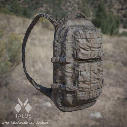 3d Model: Army backpack game jungle, desert, urban camo