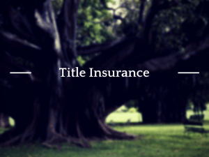 Title Insurance Policy Surcharge Going Up