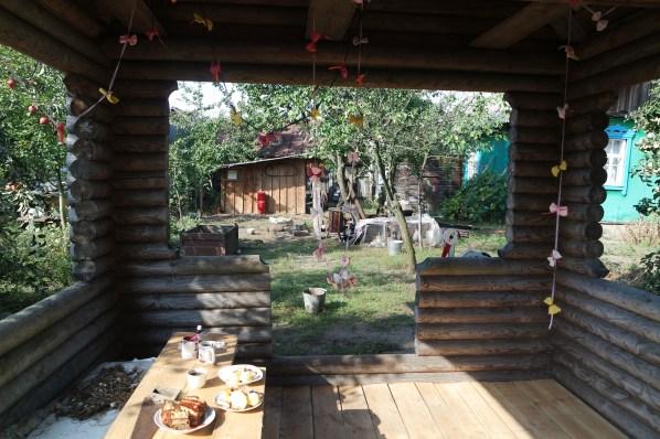 garden shed in Belarus
