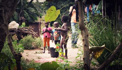children in Guinea Bissau