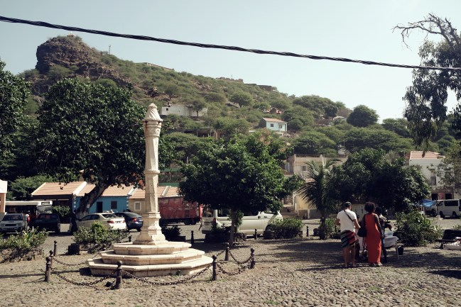 market square in Cidade Velha, Cap Verde