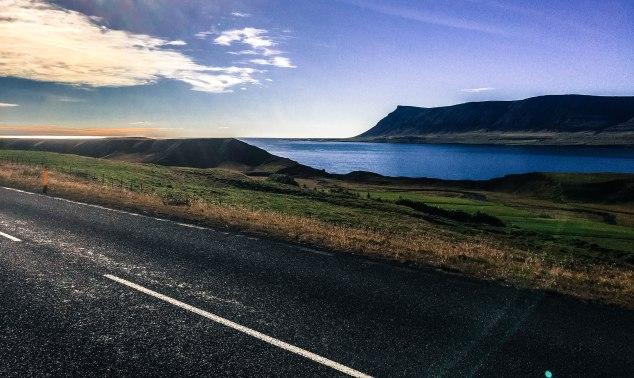 stunningFjord in Iceland