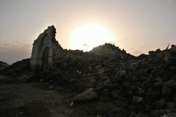 Ruins in Suwakin, Sudan