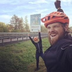 bicycle couple in rhineland palatinate