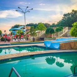 Water fun park in Kosovo