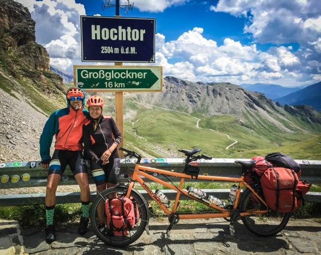 A couple at the Hochtor, Austria