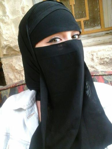 A woman wearing Niqāb / Harassment While Traveling