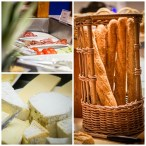 collage of the breakfast at room of Hotel Kyriad Orly Aéroport