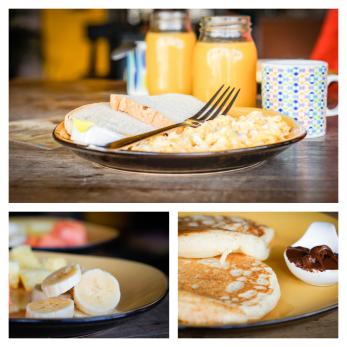 collagekolibri breakfast