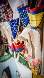 handcraft market in Guatape , Colombia