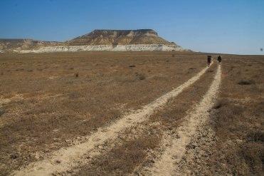 Desert boulders in Kazakhstan