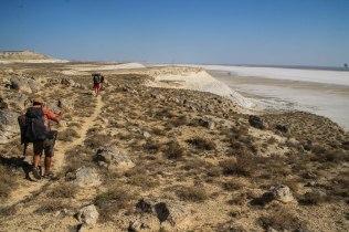 Desert in the Kazakhstan