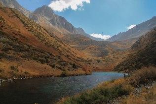 A mountain lake in Kazakhstan