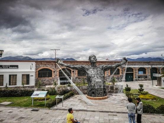 Ex-Fabrica Imbabura in Atuntaqui, Ecuacor