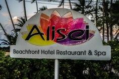 sign of the Alisei Hotel