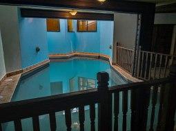 indoor swimming pool at the Hacienda EL Jibarito