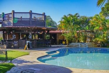 Swimming pool of the Hacienda EL Jibarito
