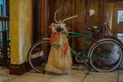 old bicycle at the Hacienda EL Jibarito