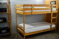 bunk beds in a hostal in Puerto Rico