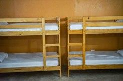 Hostal dormitory at Casa Coral