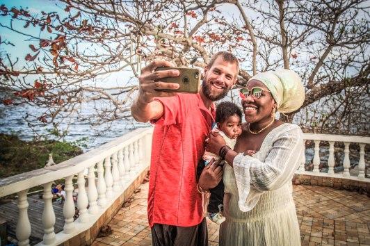 Selfie of Benjamin Nerding and Queen Omega