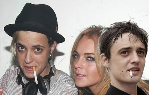 Celebrity No Exit: Lindsay Lohan, Samantha Ronson, and Pete Doherty