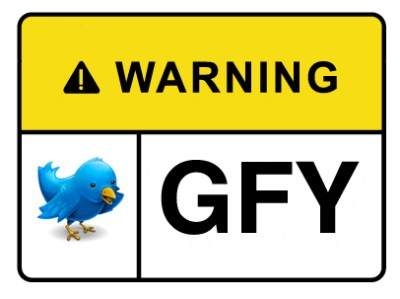 Public safety warnings in the form of passive-aggressive tweets