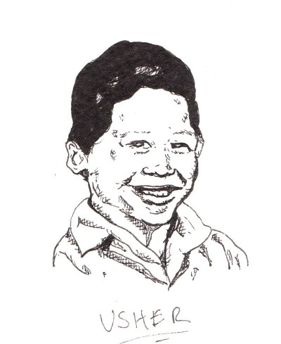 Sketchbook: Popular Rappers as Kids