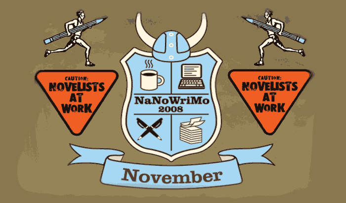 Welcome to National Novel Writing Month