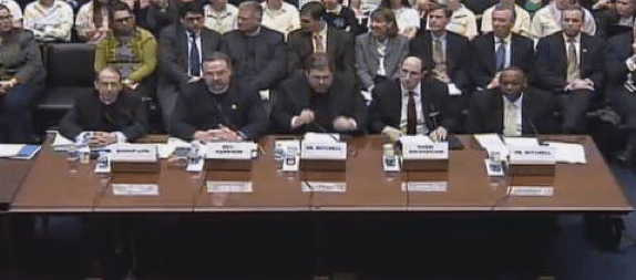 Subjects, In Addition to Birth Control, That These Five Men Are Prepared to Testify About