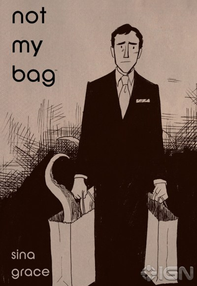 "Comic Book Artist Sina Grace On ""Not My Bag,"" His First Autobiographical Work"