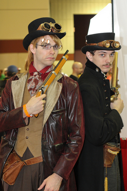 No One Ruins a Party Like a Steampunk Ruins a Party