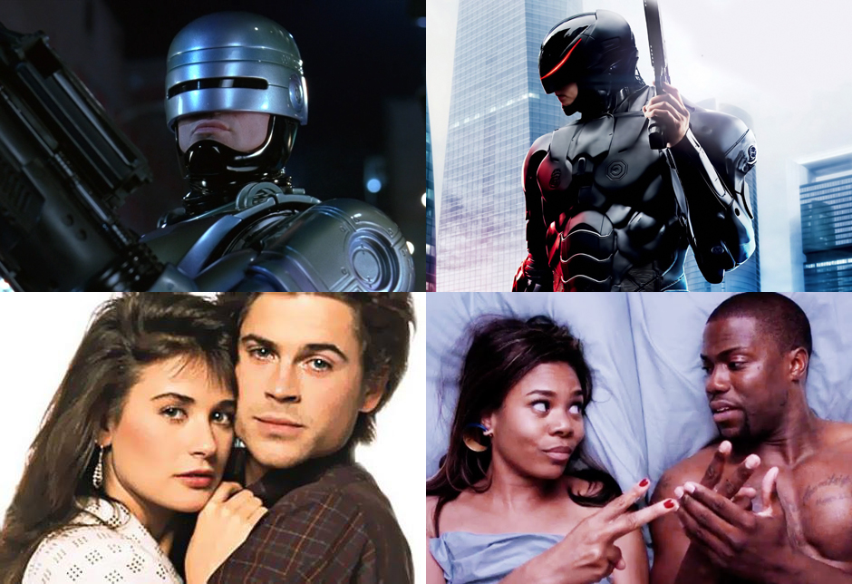"""RoboCop"" and ""About Last Night"" remakes: Totally not 80s"