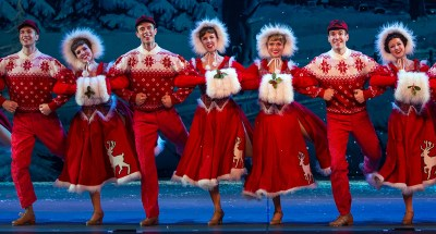 "Take your family's snow fetishist to ""Irving Berlin's White Christmas"""