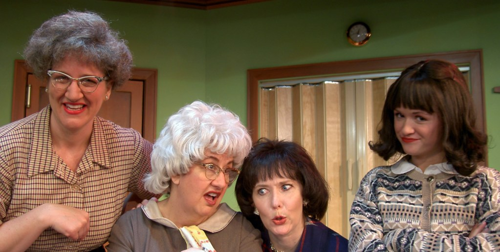 """Church Basement Ladies"" revival at Plymouth Playhouse marks tenth anniversary of stalwart franchise"
