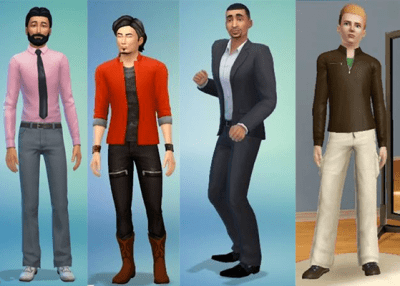 Gay Sims I Made In 7th Grade