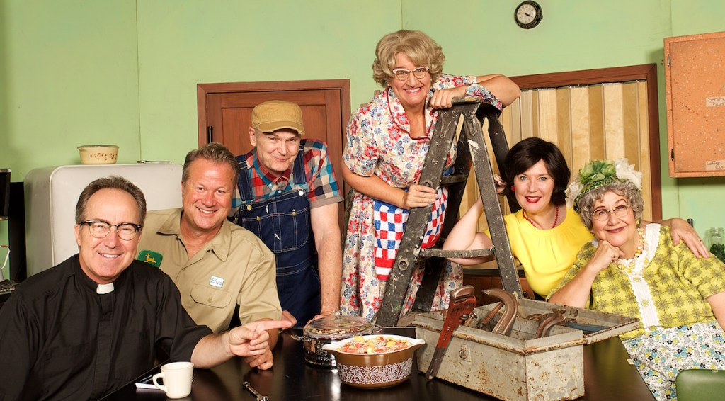 """""""Rise Up, O Men"""": Plymouth Playhouse's Church Basement Ladies Give the Fellas a Turn"""