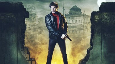 """Audiobook Review: In """"Up Against the Wall,"""" David Hasselhoff Saves the Free World"""