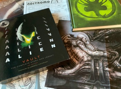"Book Review: ""Alien Vault"" Cracks the Egg on 40 Years of Xenomorphs"