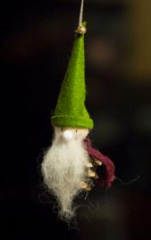 Homemade Gnome Ornament