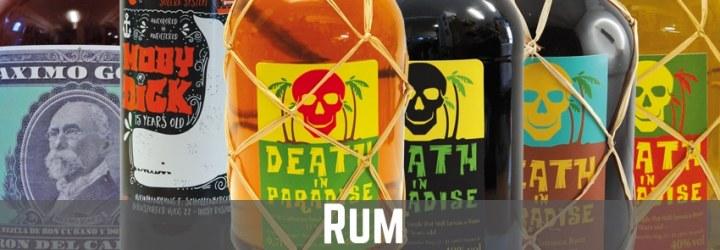Banner Kategorie Rum auf thetankcompany.de