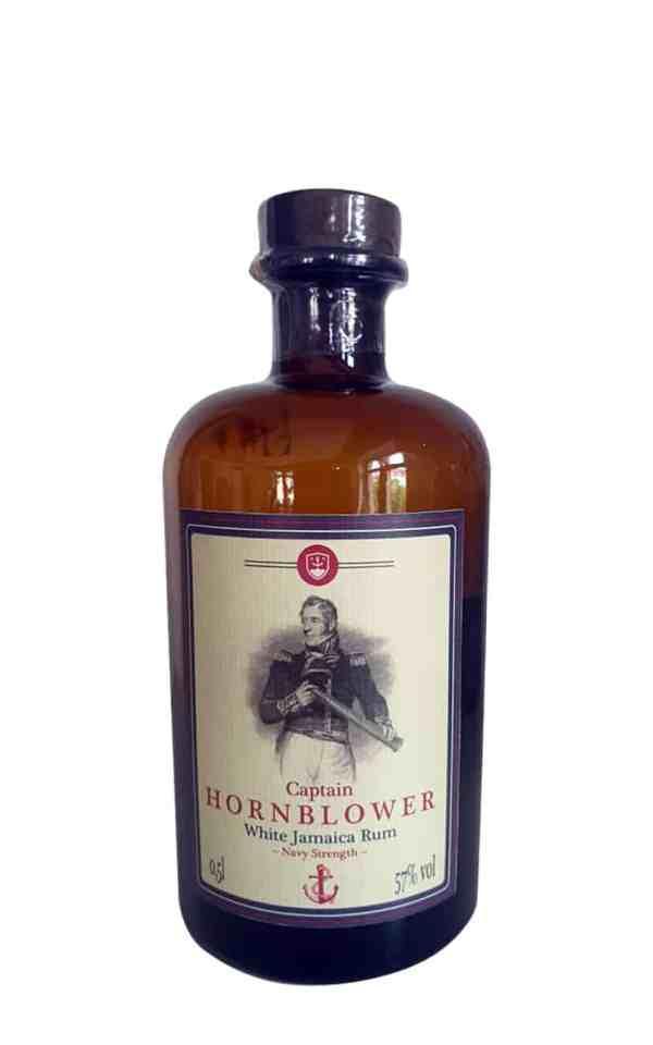Captain Hornblower - Jamaica Rum weiß mit 57 Vol. % in Navy Strenght